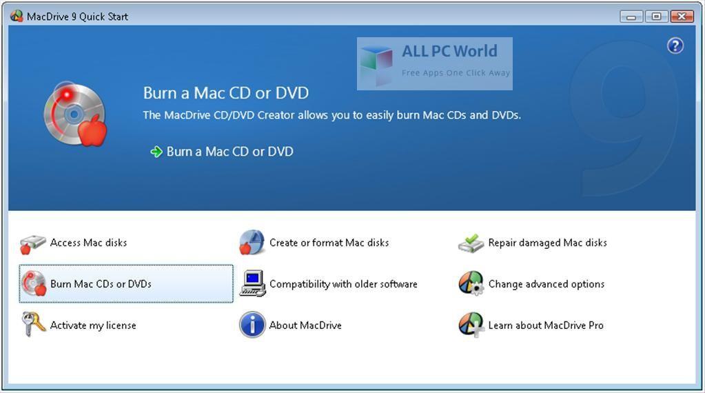 MacDrive Standard 10 Installer Free Download