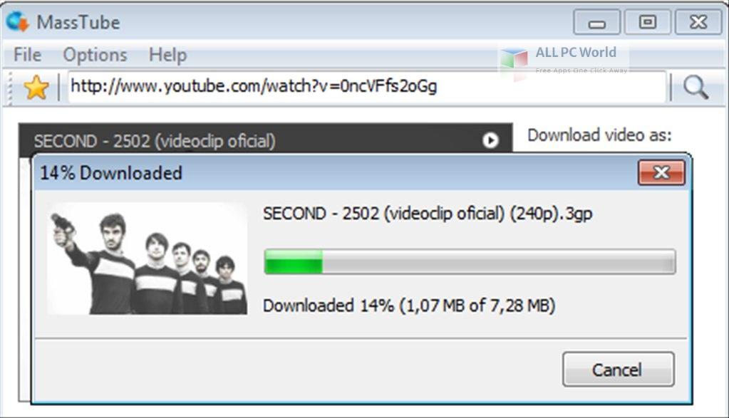 MassTube Plus 14 Setup Free Download