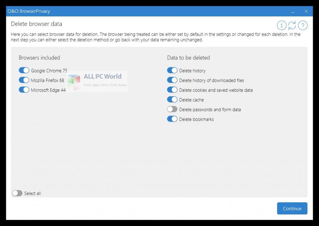 O&O BrowserPrivacy 16 Free Download