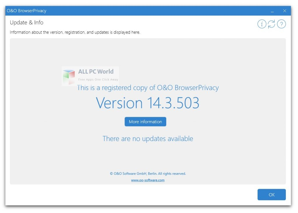 O&O BrowserPrivacy 16 Installer Free Download