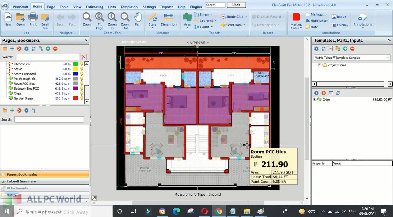 PlanSwift Pro Metric 10 Free Download