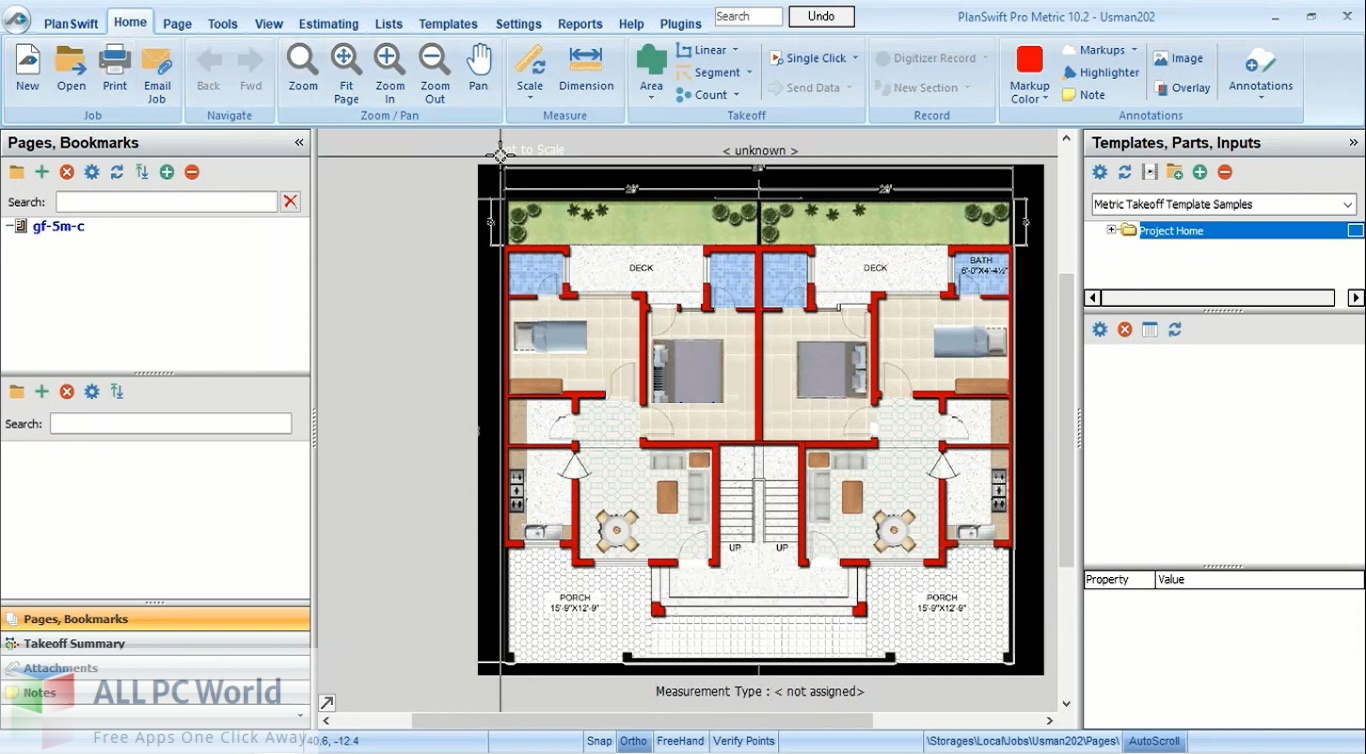 PlanSwift Pro Metric Free Download