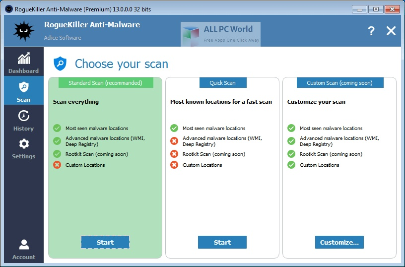 RogueKiller Anti Malware Premium 15 Setup Free Download