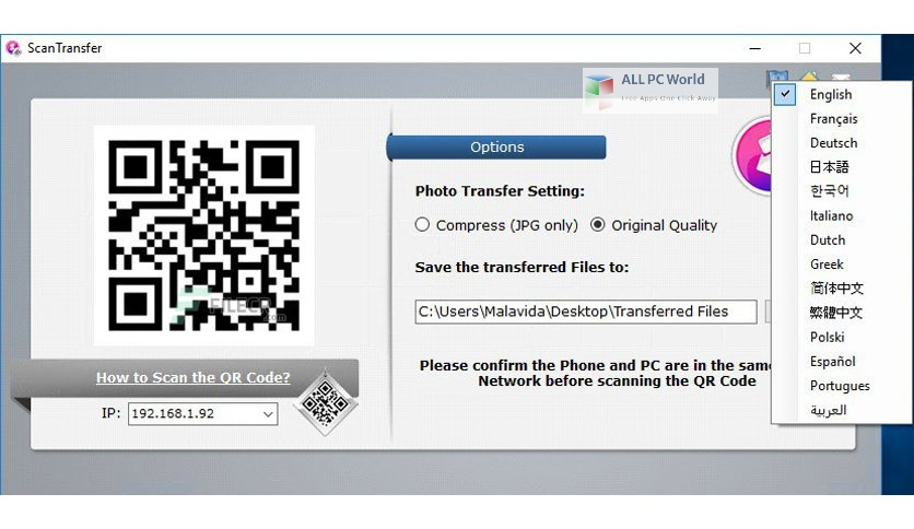 ScanTransfer Pro Setup Free DOwnload