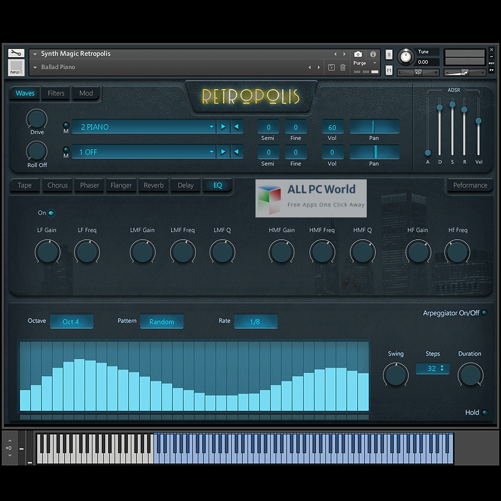 Synth Magic Retropolis KONTAKT Library Free Download