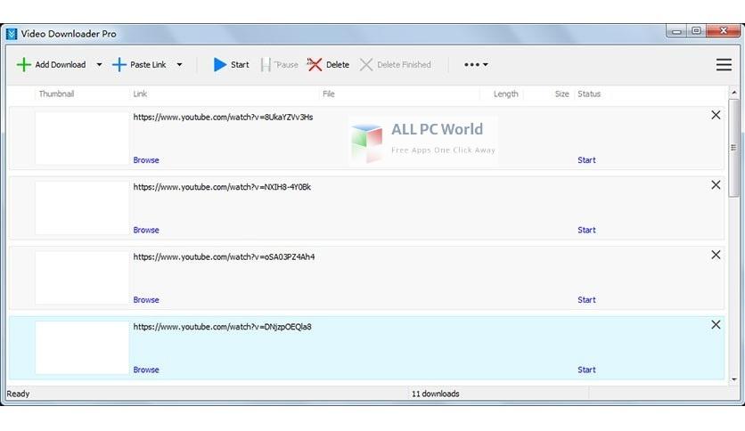 Vitato Video Downloader Pro 3 Free Download