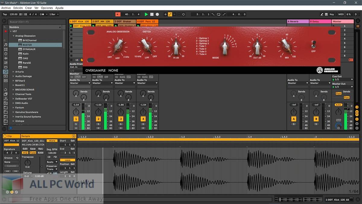 Analog Obsession Distox 4 Free Download