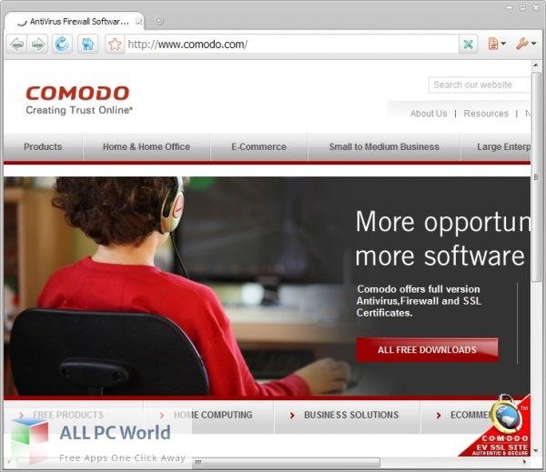 Comodo Dragon Browser 91 Free Download