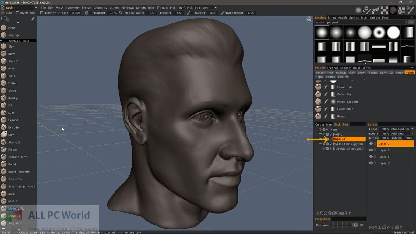 Download 3D-Coat 2021 Free
