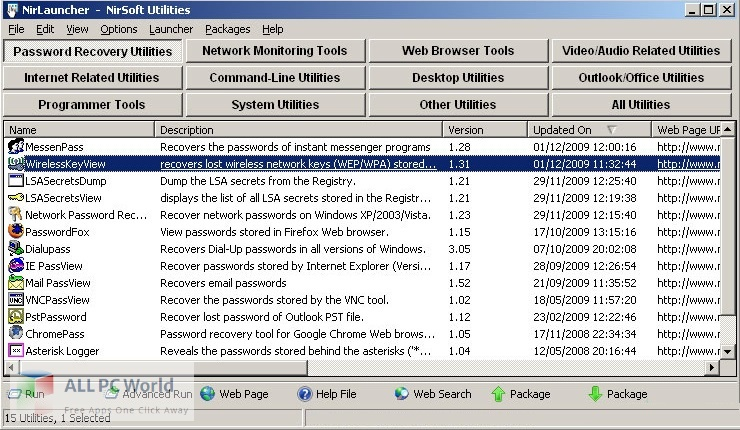 Download NirLauncher Package Free