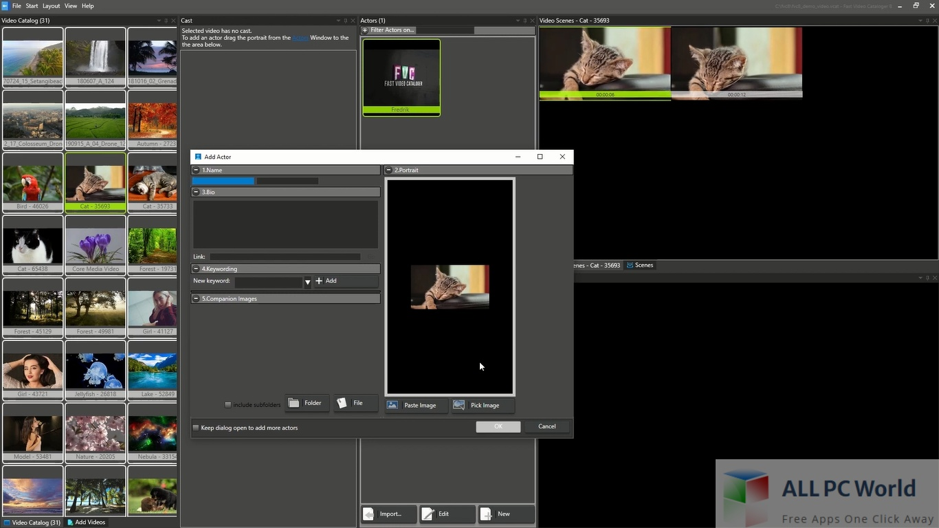 Fast Video Cataloger Download Free
