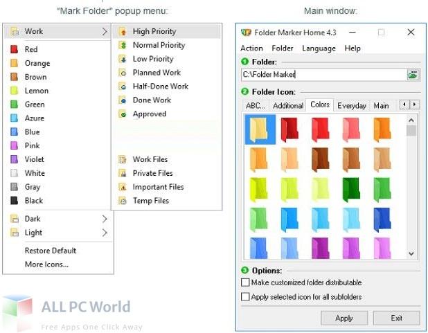 Folder Marker Pro Free Download