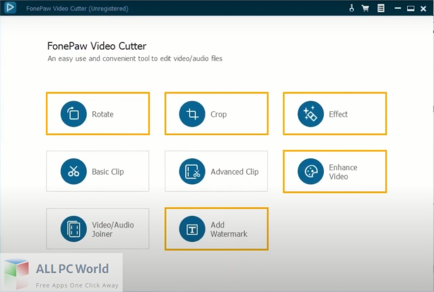 FonePaw Video Cutter Free Download