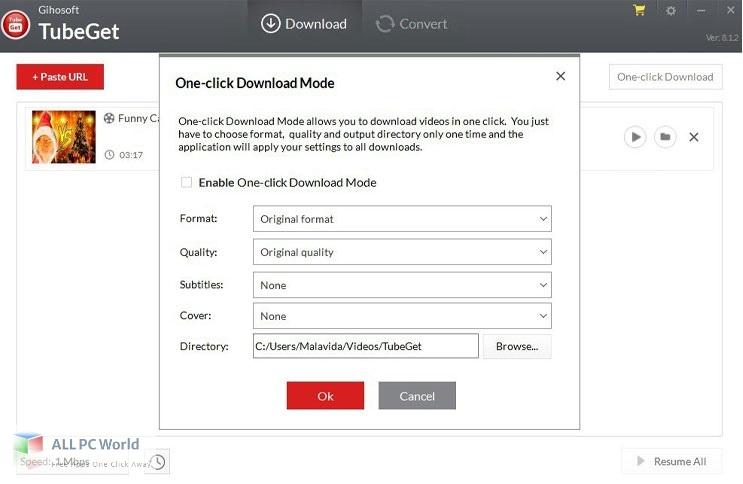 Gihosoft TubeGet Pro 8 Free Download