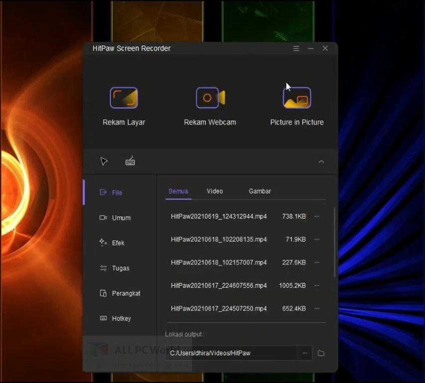 HitPaw Screen Recorder 1 Free Download