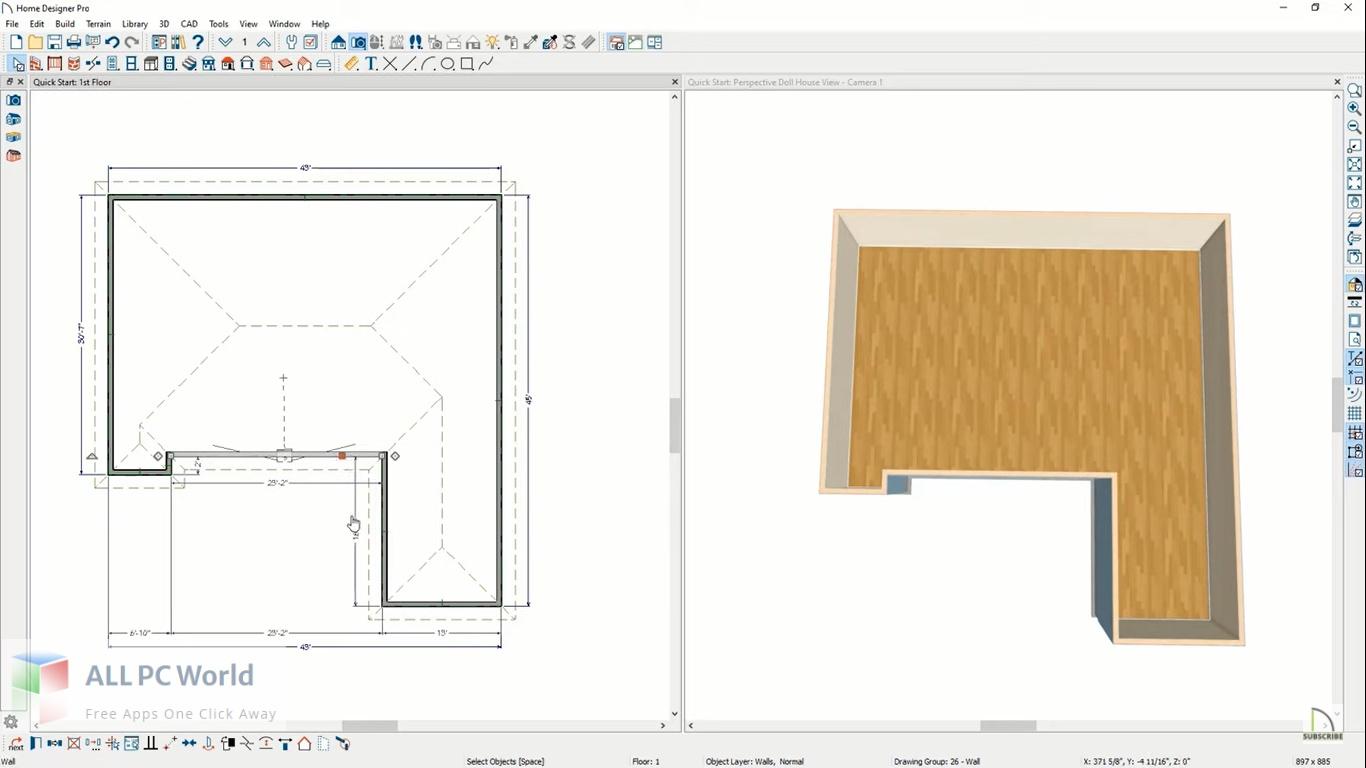 Home Designer Architectural 2022 Free Download