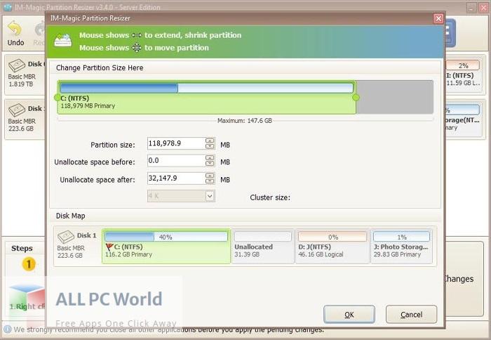 IM-Magic Partition Resizer Free Download