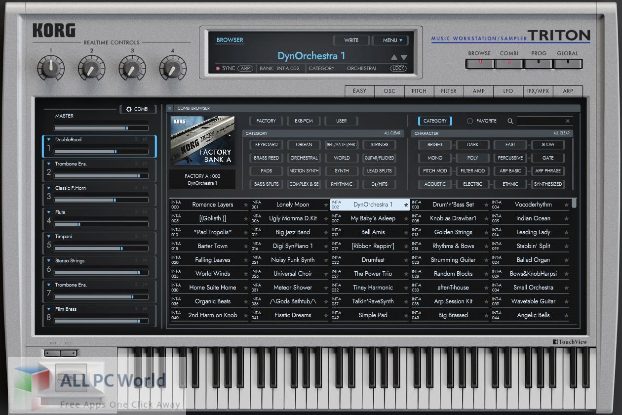 KORG Triton v1.3.3 Free Download