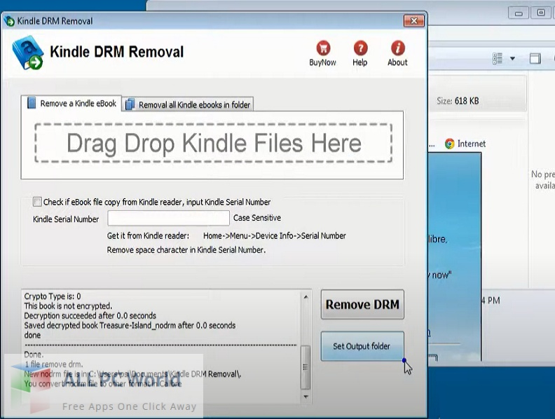 Kindle DRM Removal Download Free