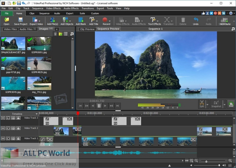 NCH VideoPad Pro 10 Free Download