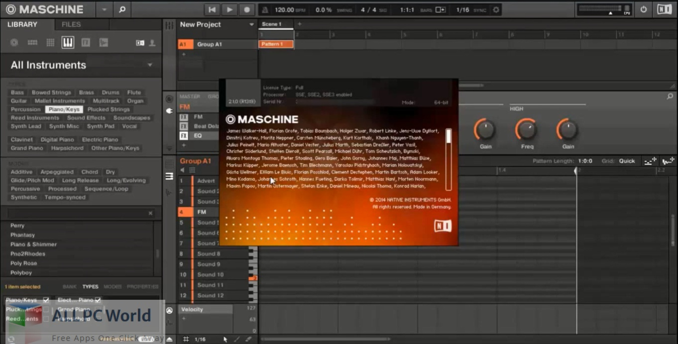 Native Instruments Maschine for Free Download