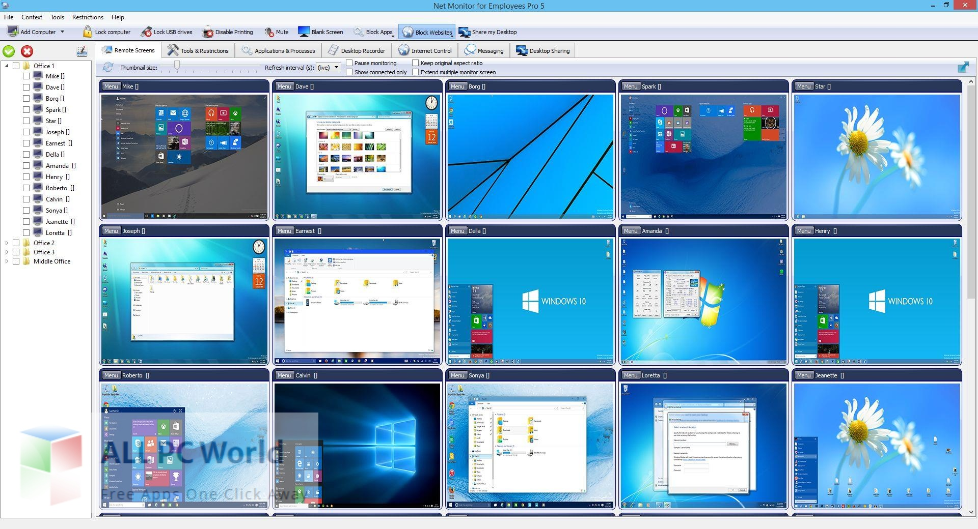 Net Monitor For Employees Pro 5 Free Download