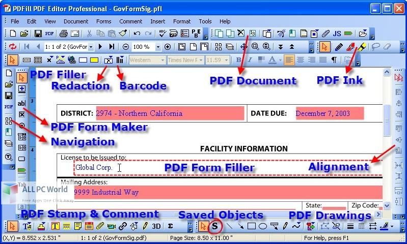 PDFill PDF Editor Pro Free Download