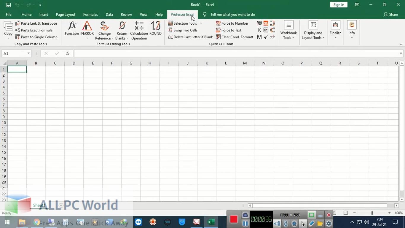 Professor Excel Tools 3.0 Premium Free Download