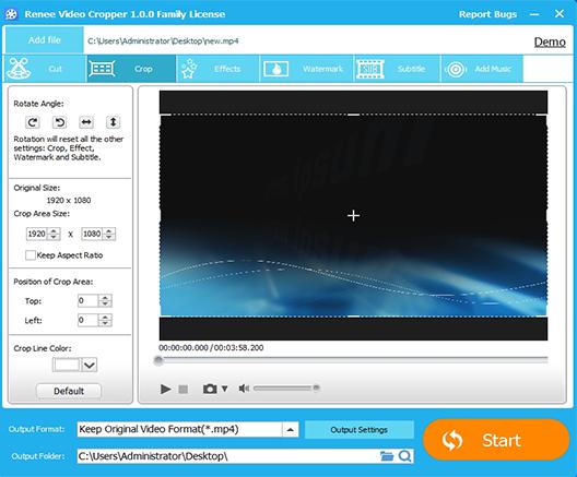 Renee Video Editor Pro Free Download