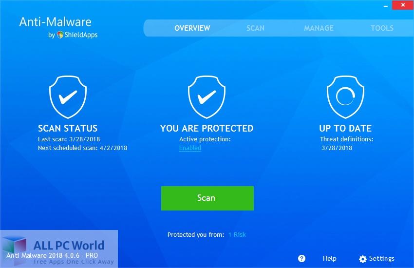 ShieldApps Anti-Malware Pro 4 for Mac Free Download