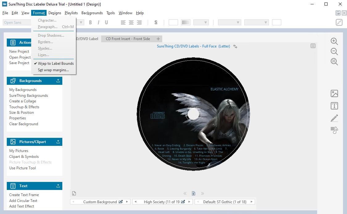 SureThing Disk Labeler Deluxe Free Download