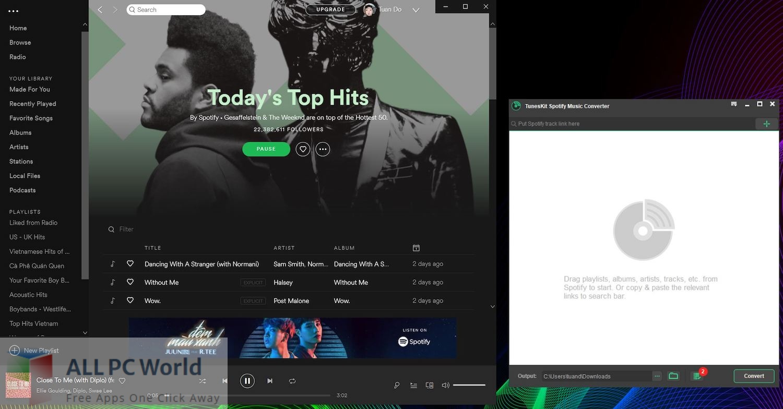 TunesKit Spotify Music Converter 2 Free Download