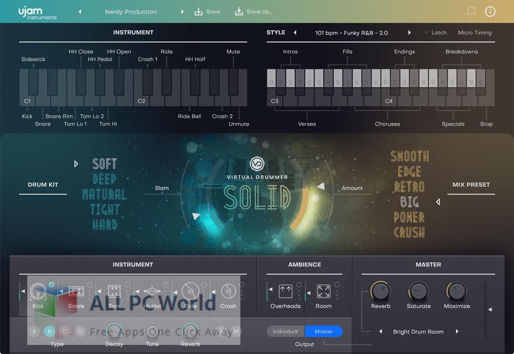 UJAM Virtual Drummer SOLID 2 Free Download