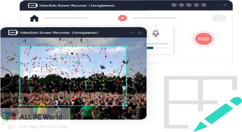 VideoSolo Screen Recorder for Free Download