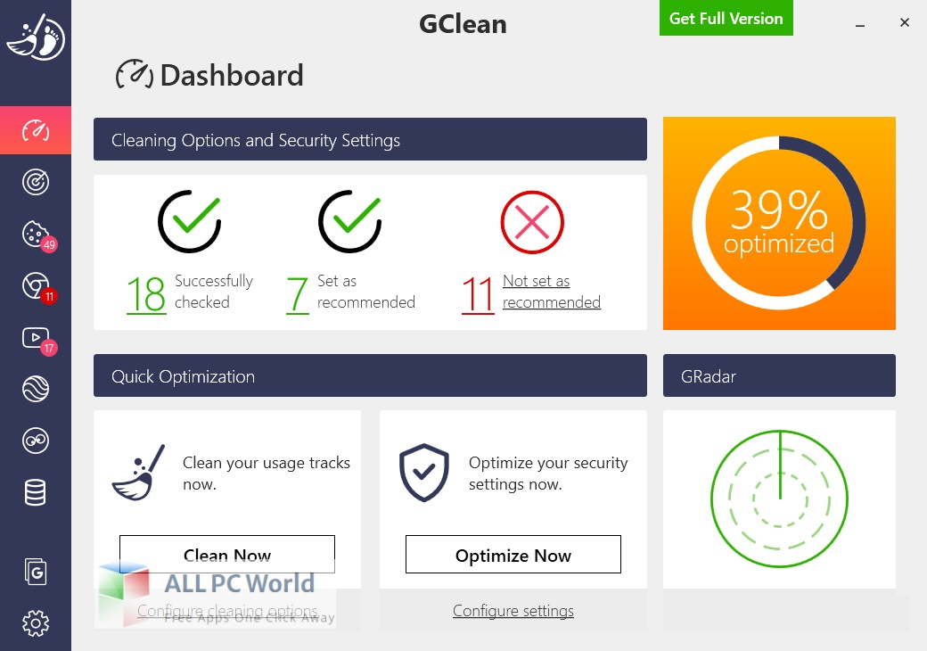 Abelssoft GClean for Free Download