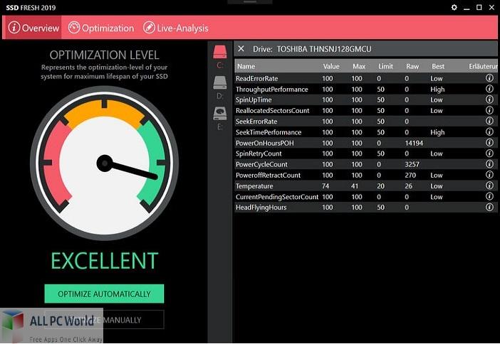 Abelssoft SSD Fresh Plus Free Download