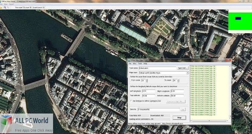 AllMapSoft Offline Map Maker Free Download