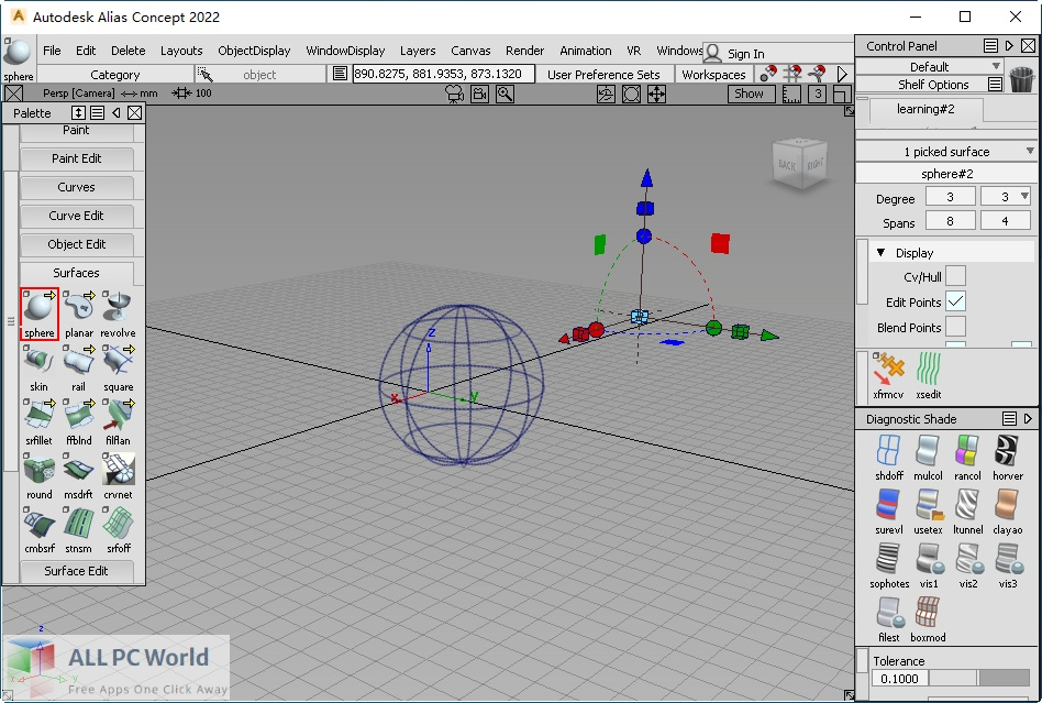 Autodesk Alias Concept 2022 Free Download