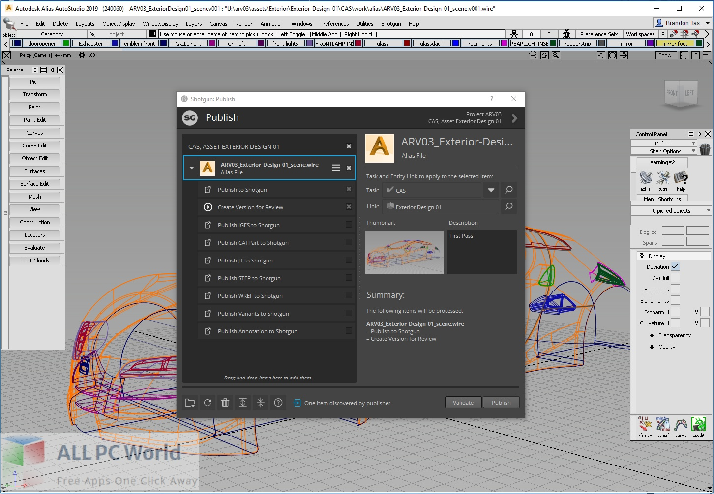 Autodesk Alias Surface 2022 Free Download