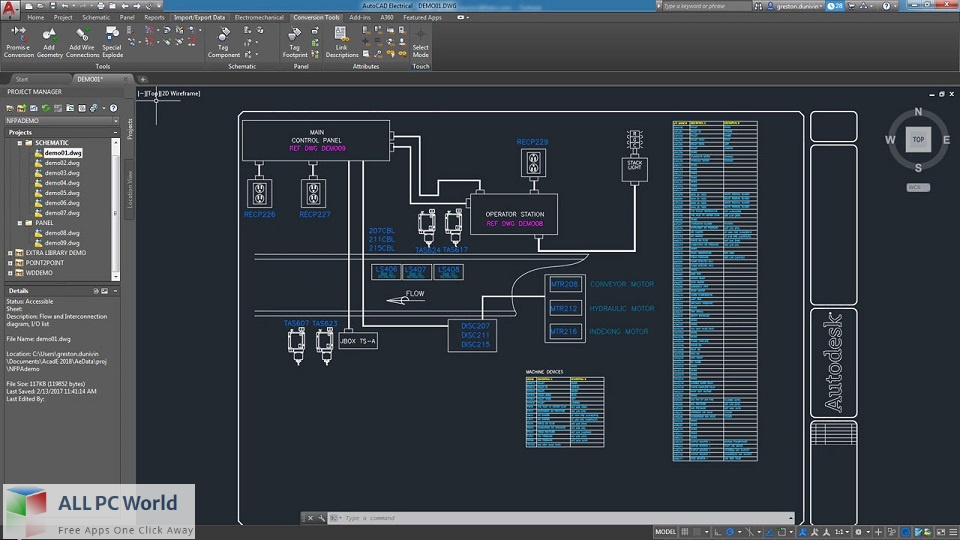 Autodesk AutoCAD Electrical 2022 Free Download