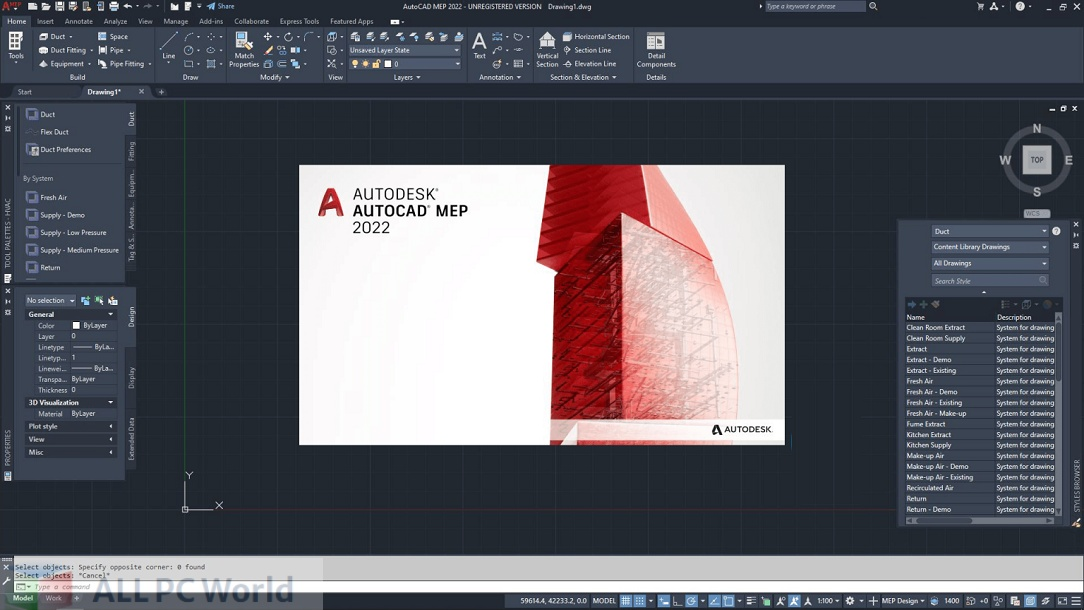 Autodesk AutoCAD MEP 2022 for Free Download