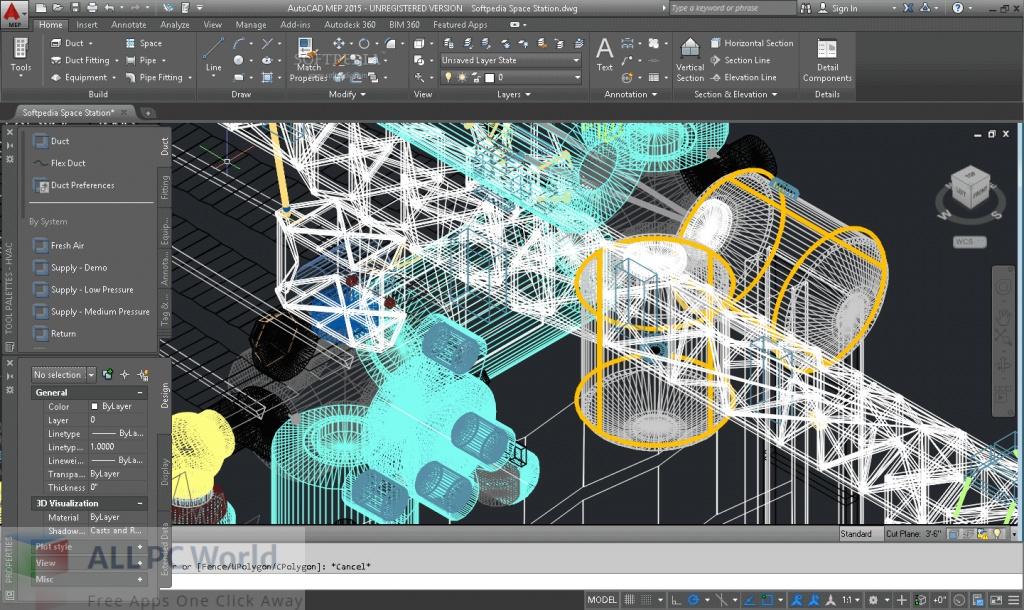 Autodesk AutoCAD MEP Free Download