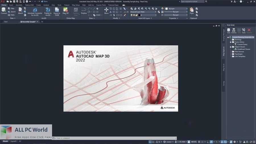 Autodesk AutoCAD Map 3D 2022 Free Download
