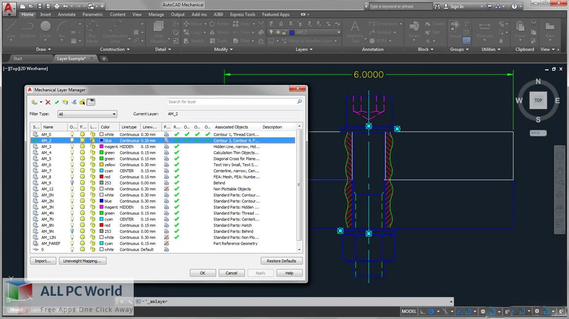 Autodesk AutoCAD Mechanical 2022 for Free Download