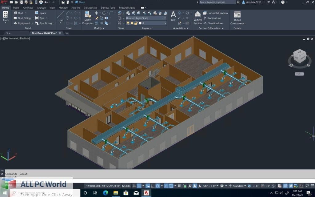 Autodesk AutoCAD Plant 3D 2022 Free Download
