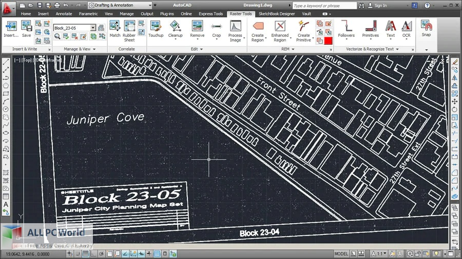 Autodesk AutoCAD Raster Design 2022 Free Download