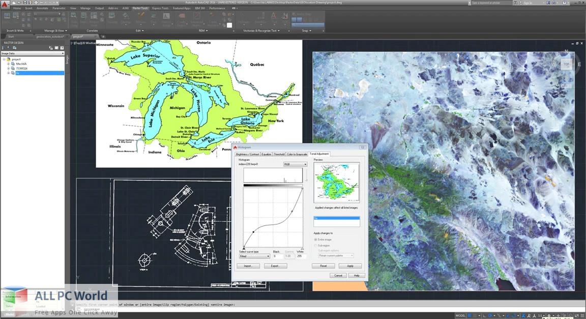 Autodesk AutoCAD Raster Design Free Download