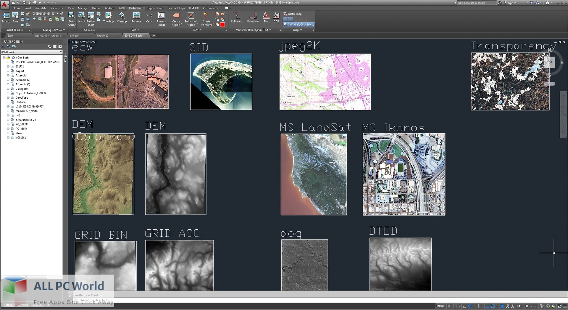 Autodesk AutoCAD Raster Design for Free Download