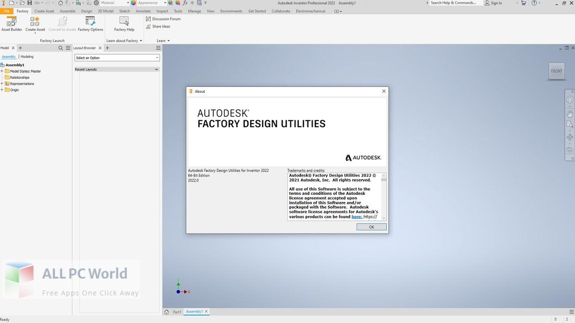 Autodesk Factory Design Utilities 2022 Free Download