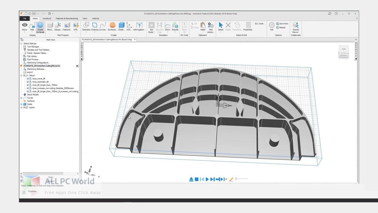 Autodesk FeatureCAM Ultimate 2022 Free Download